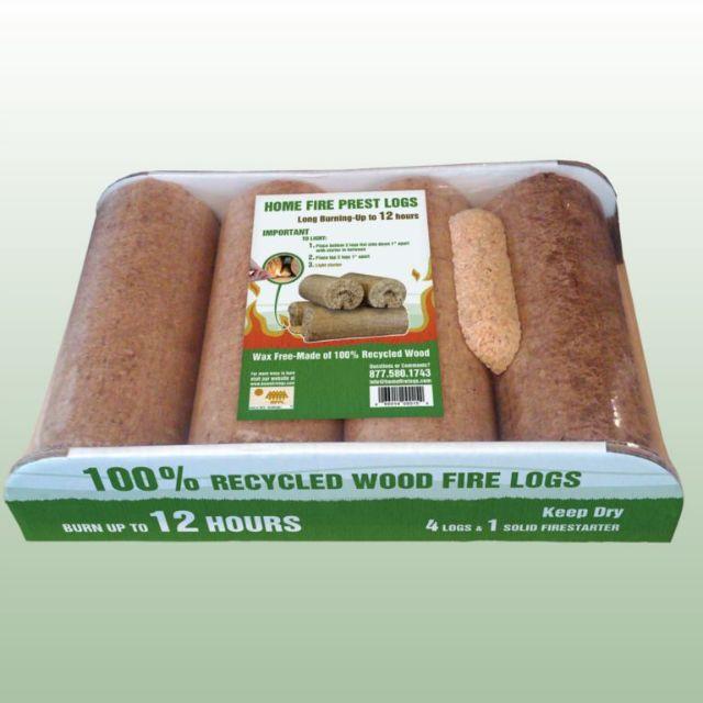 Home fire logs